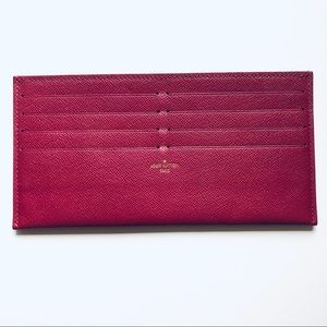 Louis Vuitton Felicie Credit Card Insert Only
